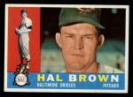 1960 Topps #89  Hal Brown  Front Thumbnail
