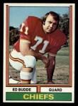1974 Topps #108  Ed Budde  Front Thumbnail