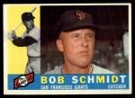 1960 Topps #501  Bob Schmidt  Front Thumbnail