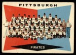 1960 Topps #484   Pirates Team Checklist Front Thumbnail