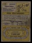 1974 Topps #139   -  Phil Villapiano  All-Pro Back Thumbnail