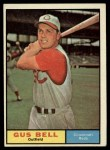 1961 Topps #215  Gus Bell  Front Thumbnail