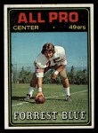 1974 Topps #124 TOP  -  Forrest Blue All-Pro Front Thumbnail