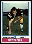 1974 Topps #93  Bruce Van Dyke  Front Thumbnail