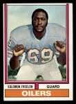 1974 Topps #48  Solomon Freelon  Front Thumbnail