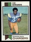 1973 Topps #13  Cid Edwards  Front Thumbnail
