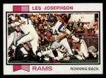 1973 Topps #41  Les Josephson  Front Thumbnail