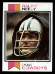 1973 Topps #321  Ralph Neely  Front Thumbnail