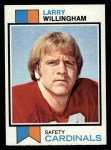 1973 Topps #213  Larry Willingham  Front Thumbnail