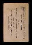 1921 E220 National Caramel  Larry Gardner  Back Thumbnail