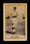 1921 E220 National Caramel  Joe Judge  Front Thumbnail