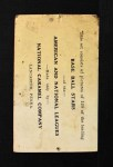 1921 E220 National Caramel  Bill Doak  Back Thumbnail