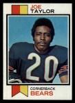 1973 Topps #37  Joe Taylor  Front Thumbnail