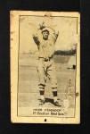1921 E220 National Caramel  Herb Pennock  Front Thumbnail