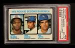 1973 Topps #609   -   Dave Lopes / Larvell Blanks / Pedro Garcia Rookie Second Basemen Front Thumbnail
