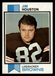 1973 Topps #163  Jim Houston  Front Thumbnail