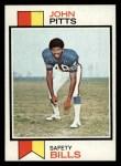 1973 Topps #178  John Pitts  Front Thumbnail