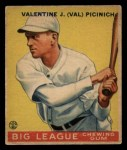 1933 Goudey #118  Val Picinich  Front Thumbnail