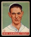 1933 Goudey #82  Dib Williams  Front Thumbnail