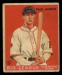 1933 Goudey #25  Paul Waner  Front Thumbnail