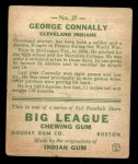 1933 Goudey #27  George Connally  Back Thumbnail