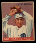 1933 Goudey #15  Vic Sorrell  Front Thumbnail