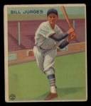 1933 Goudey #225  Billy Jurges  Front Thumbnail