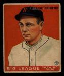 1933 Goudey #105  Barney Friberg  Front Thumbnail