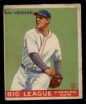 1933 Goudey #54  Ray Kremer  Front Thumbnail