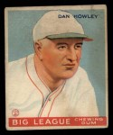 1933 Goudey #175  Dan Howley  Front Thumbnail