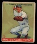 1933 Goudey #158  Moe Berg  Front Thumbnail