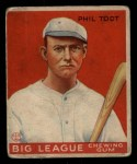 1933 Goudey #86  Phil Todt  Front Thumbnail