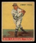 1933 Goudey #29  Jimmie Foxx  Front Thumbnail