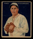 1933 Goudey #235  Fred Fitzsimmons  Front Thumbnail