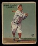 1933 Goudey #211  Hack Wilson  Front Thumbnail