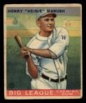 1933 Goudey #47  Heinie Manush  Front Thumbnail
