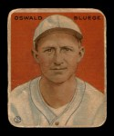 1933 Goudey #113  Ossie Bluege  Front Thumbnail
