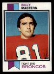 1973 Topps #242  Billy Masters  Front Thumbnail
