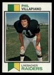1973 Topps #235  Phil Villapiano  Front Thumbnail