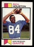 1973 Topps #391  Rich Houston  Front Thumbnail