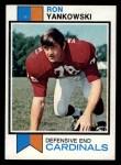 1973 Topps #241  Ron Yankowski  Front Thumbnail