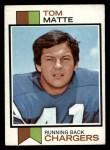 1973 Topps #338  Tom Matte  Front Thumbnail