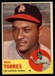 1963 Topps #482  Felix Torres  Front Thumbnail
