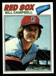 1977 Topps #166  Bill Campbell  Front Thumbnail