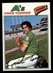 1977 Topps #365  Mike Torrez  Front Thumbnail