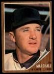 1962 Topps #337  Jim Marshall  Front Thumbnail