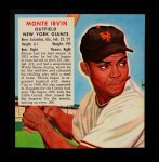 1952 Red Man #9 NL x Monte Irvin  Front Thumbnail