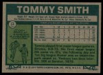 1977 Topps #14  Tommy Smith  Back Thumbnail
