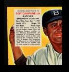 1953 Red Man #5 NL x Roy Campanella  Front Thumbnail
