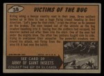 1962 Bubbles Inc Mars Attacks #38   Victims of the Bug  Back Thumbnail